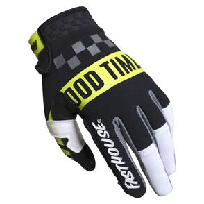 FASTHOUSE 2022 YOUTH SPEED STYLE DOMINGO GLOVE WHITE/BLACK