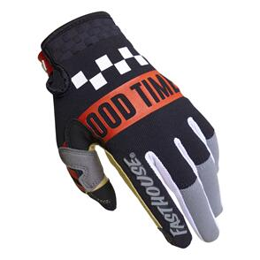 FASTHOUSE 2022 YOUTH SPEED STYLE DOMINGO GLOVE GRAY/BLACK