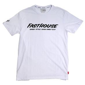 FASTHOUSE PRIME TECH TEE WHITE