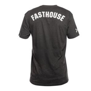 FASTHOUSE DART TECH TEE DARK HEATHER GREY