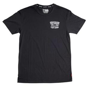 FASTHOUSE TREMOR TECH TEE BLACK