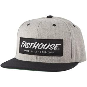 FASTHOUSE SPEED/STYLE HAT HEATHER GREY/BLACK