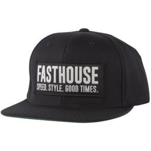 FASTHOUSE BLOCK HOUSE HAT BLACK/BLACK