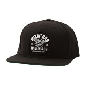 FASTHOUSE MIXIN GAS HAT BLACK