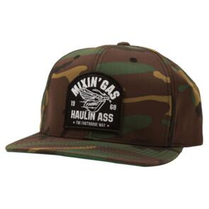 FASTHOUSE MIXIN GAS HAT CAMO