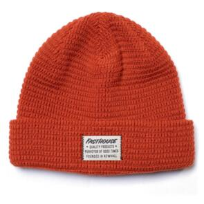 FASTHOUSE WAFFLE BEANIE RUST/WHITE