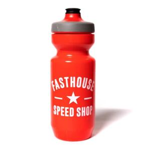 FASTHOUSE SPEED STAR WATER BOTTLE RED
