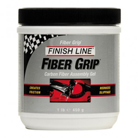 FINISH LINE FIBER GRIP CARBON PASTE 454G