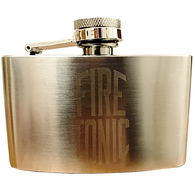 FIRE TONIC HILBILBY 90ML STAINLESS STEEL HIP FLASK