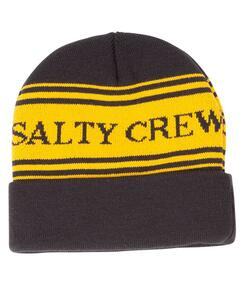SALTY CREW FISH AND FLAGS BEANIE NAVY