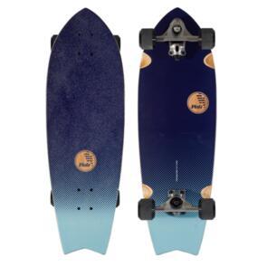 "SLIDE SURF FISH INDIGO FADE SURF SKATE 32"""