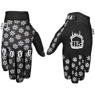 FIST FROSTY FINGERS COLD WEATHER GLOVE - SNOWFLAKE BLACK