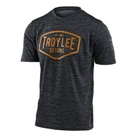 TROY LEE DESIGNS 2020 FLOWLINE SS JERSEY STATION HEATHER BLACK / YELLOW