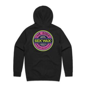 SEX WAX FLUORO HOOD BLACK