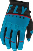 FLY RACING 2020 KINETIC K120 GLOVE (YOUTH BLUE/BLACK/RED)