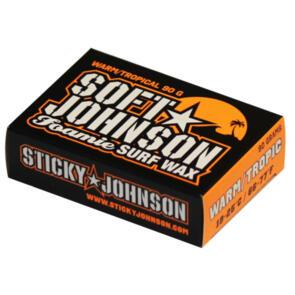 STICKY JOHNSON SOFT JOHNSON FOAMIE SOFTBOARD WAX WARM/TROPIC
