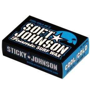 STICKY JOHNSON SOFT JOHNSON FOAMIE SOFTBOARD WAX COOL/COLD
