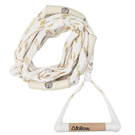 FOLLOW 2019 SURF ROPE AND HANDLE PACKAGE TAN WHITE