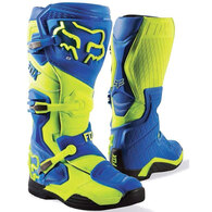 FOX RACING COMP 8 BOOTS BLUE YELLOW