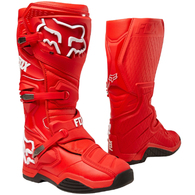 FOX RACING COMP 8 BOOTS RED