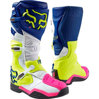 FOX RACING COMP 8 BOOTS RS NAVY WHITE