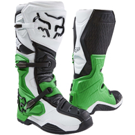 FOX RACING COMP 8 MONSTER SE BOOTS [WHITE/BLACK/GREEN]