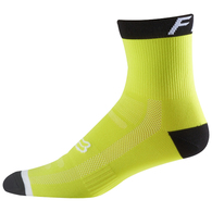 "FOX RACING 2017 6"" LOGO TRAIL SOCK FLO YELLOW"