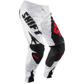 SHIFT REED REPLICA PANTS [WHITE/RED]