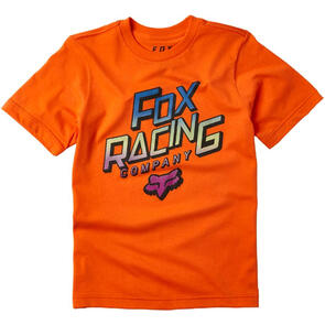 FOX RACING YOUTH CRUISER SS TEE [ORANGE FLAME]