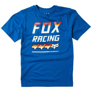 FOX RACING YOUTH FULL COUNT SS TEE [ROYAL BLUE]
