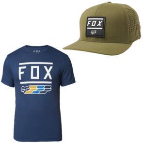 FOX RACING SUPER SS TEE + LISTLESS FLEXFIT HAT COMBO!