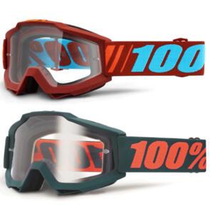 100% 2020 ACCURI MOTO COMBO! DAUPHINE + MATTE GUNMETAL
