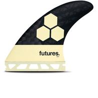 FUTURE FINS AM1 BLACKSTIX 3.0 TRI FIN CREAM CARBN- FUTURES - M