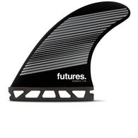 FUTURE FINS F6 (NEUTRAL) LEGACY HC TRI FIN WHITE - FUTURES - M