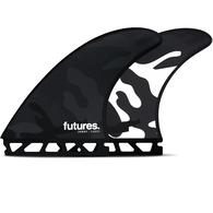 FUTURE FINS JORDY SMITH HC TRI FIN BLACK CAMO - FUTURES - L