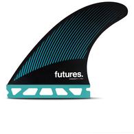 FUTURE FINS R4 (RAKE) LEGACY HC TRI FIN TEAL - FUTURES - S