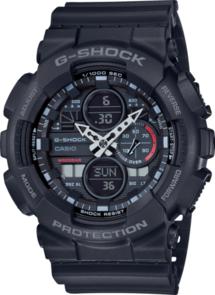 G-SHOCK 90'S MOTIF BLACK ANALOGUE WATCH GA140-1A1