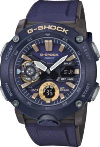 G-SHOCK ANALOGUE/DIGITAL CARBON CORE GUARD BLUE MEN'S WATCH GA2000-2A