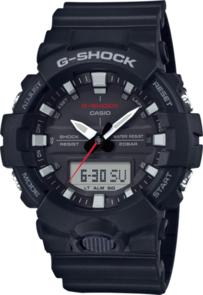 CASIO G-SHOCK BLACK ANALOGUE/DIGITAL ATHLETE WATCH GA800-1A