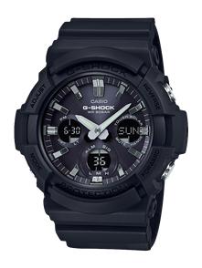 CASIO G-SHOCK GAS100 TOUGH SOLAR ANALOGUE-DIGITAL WATCH BLACK
