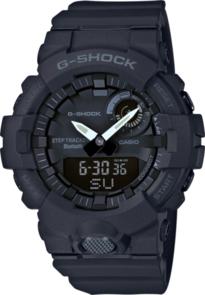 CASIO G-SHOCK BLACK G-SQUAD STEP TRACKER BLUETOOTH MEN'S WATCH GBA800-1A