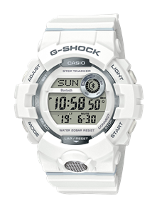 CASIO G-SHOCK G-SQUAD GBD800 DIGITAL WATCH WHITE