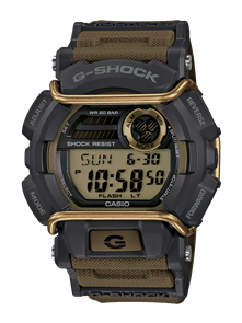 CASIO G-SHOCK GD400 LARGE DIGITAL WATCH SAND