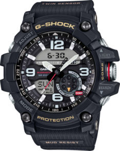 CASIO G-SHOCK BLACK TWIN SENSOR MUDMASTER GG1000-1A