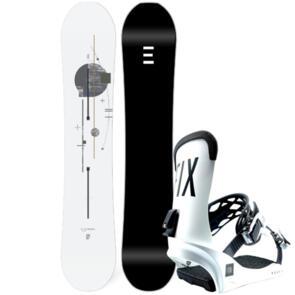 ENDEAVOR SNOWBOARDS 2021 PIONEER SERIES SNOWBOARD + FIX PEAK BINDINGS