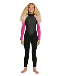 ONEILL 2021 GIRLS REACTOR II BZ FULL 3/2MM BLK/MGH/BCR