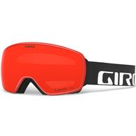 GIRO 2020 AGENT BLACK WORDMARK VIV EMBER/VIV INFRARED GOGGLES