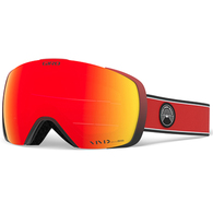 GIRO 2020 CONTACT RED ELEMENT VIV EMBER/VIV INFRARED GOGGLES