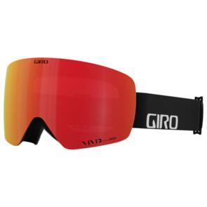 GIRO 2022 CONTOUR RS BLACK WORDMARK VIV EMBER/VIV INFRARED