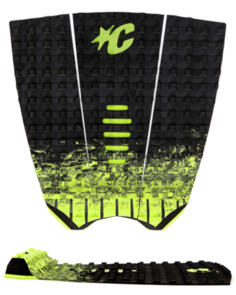 CREATURES OF LEISURE 2021 MICK FANNING GRIP BLACK FADE LIME -